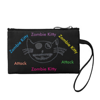 Bourse de Kitty de zombi