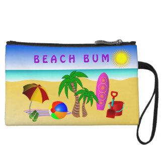 Bourse de sac d'embrayage de Sun de plage petite
