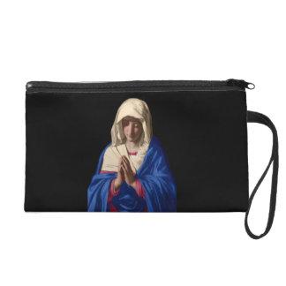 Bourse d'embrayage de bracelet de Vierge Marie