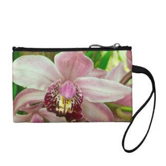 Bourse rose de bracelet d'orchidée