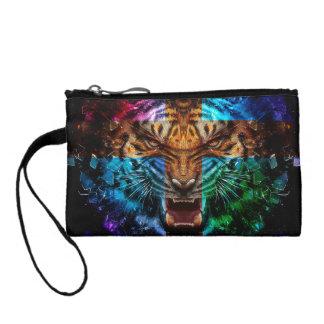 Bourse Tigre croisé - tigre fâché - visage de tigre - le