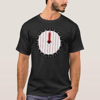 Boussole de course d'orientation t-shirt