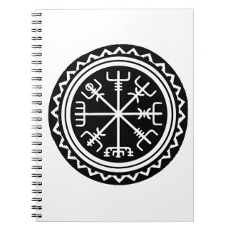Boussole de Viking Vegvisir Carnet À Spirale