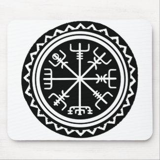 Boussole de Viking Vegvisir Tapis De Souris