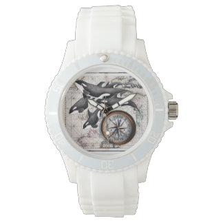 Boussole nautique d'orque montres cadran