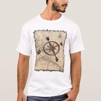 Boussole nautique t-shirt
