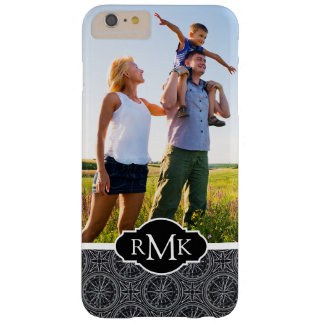 Boussole Pattern| de rose de vent votre photo et Coque Barely There iPhone 6 Plus