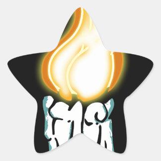 Bout chaud sticker étoile