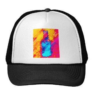 Bouteille 10 cents casquettes