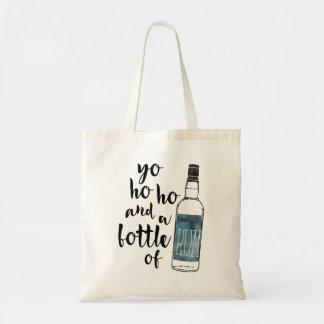 Bouteille de Yo Ho Ho de sac fourre-tout à rhum