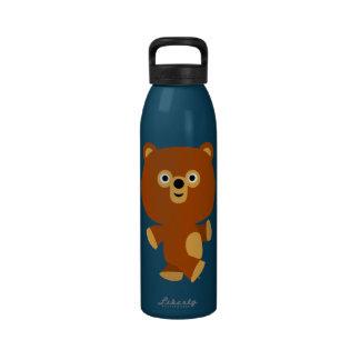 Bouteille d'eau autoritaire mignonne d'ours de ban