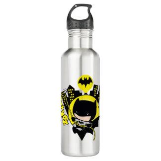 Bouteille D'eau Chibi Batman mesurant la ville