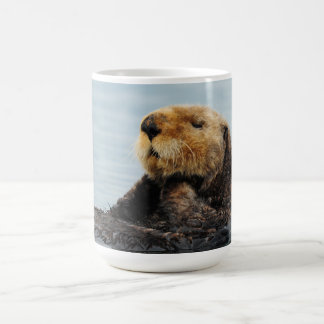 Bouteille d'eau d'Alaska de loutre de mer Mug