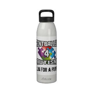 Bouteille d'eau d'autisme de Paintballers 4.