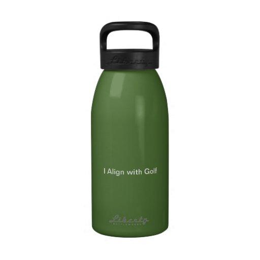 bouteille d'eau de golf