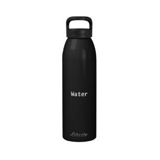 """Bouteille d'eau de la """"eau"""""""