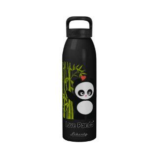 Bouteille d'eau de Panda® d'amour