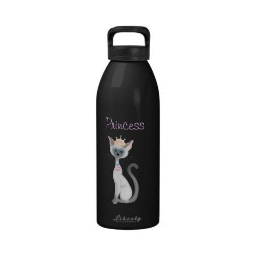 Bouteille d'eau de princesse Kitty Cat