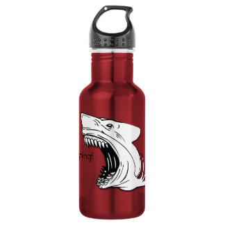 Bouteille d'eau de requin