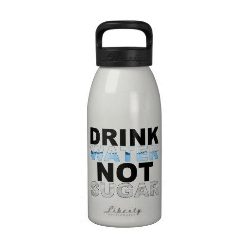 Bouteille d'eau de sucre de l'eau de boissons pas
