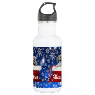 Bouteille d'eau de tzu de Shih, Noël