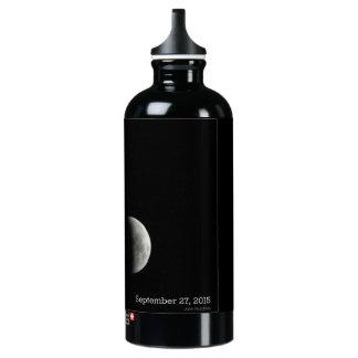 Bouteille d'eau d'éclipse lunaire