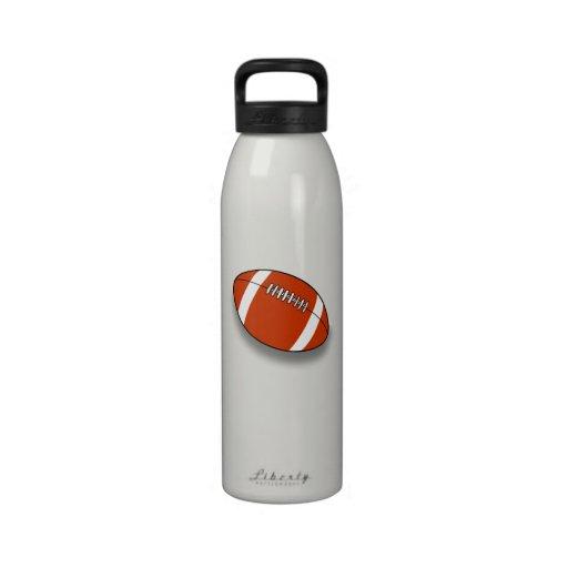Bouteille d'eau du football