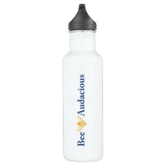 Bouteille D'eau En Acier Inoxydable Abeille audacieusement hydratée - 24oz de