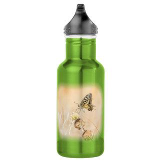 Bouteille D'eau En Acier Inoxydable Beauté fragile de papillon de machaon