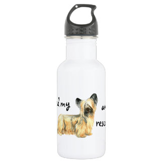 Bouteille D'eau En Acier Inoxydable Délivrance Skye Terrier