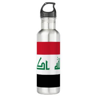 Bouteille D'eau En Acier Inoxydable Drapeau de l'Irak