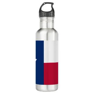 Bouteille D'eau En Acier Inoxydable Drapeau du Texas