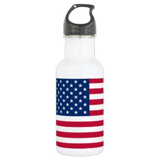 Bouteille D'eau En Acier Inoxydable Drapeau Etats-Unis américains de l'Amérique