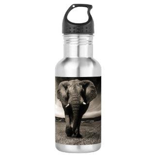 Bouteille D'eau En Acier Inoxydable Éléphant sur la course