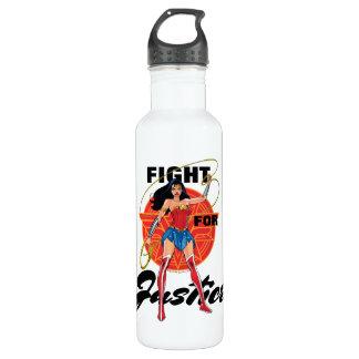 Bouteille D'eau En Acier Inoxydable Femme de merveille avec le lasso - combat pour la