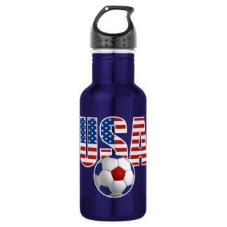 Bouteille D'eau En Acier Inoxydable Le football des Etats-Unis