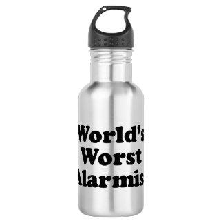 Bouteille D'eau En Acier Inoxydable Le plus mauvais alarmiste du monde