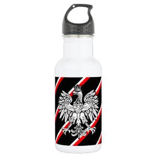 Bouteille D'eau En Acier Inoxydable Le polonais barre le drapeau