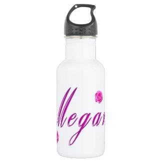 Bouteille D'eau En Acier Inoxydable Logo de nom de fille de Megan,