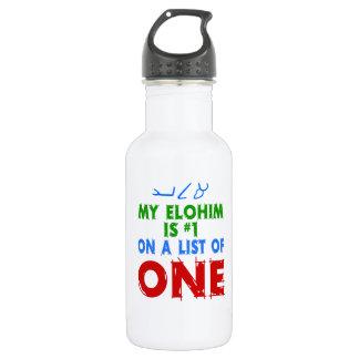 Bouteille D'eau En Acier Inoxydable Mon Elohim est #1 sur une liste d'une