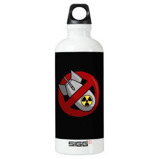 Bouteille D'eau En Aluminium Aucunes armes nucléaires