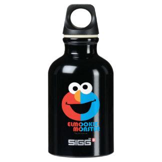 Bouteille D'eau En Aluminium Demi de visage d'Elmo et de biscuit
