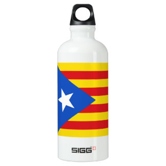 Bouteille D'eau En Aluminium Drapeau de la Catalogne