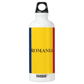 Bouteille D'eau En Aluminium Drapeau de la Roumanie