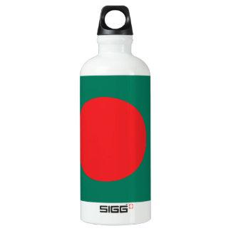 Bouteille D'eau En Aluminium Drapeau du Bangladesh