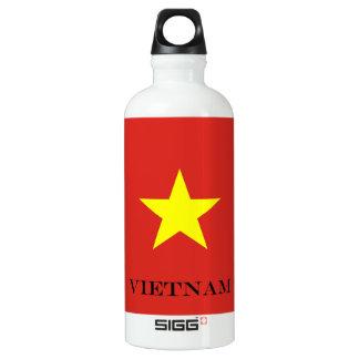 Bouteille D'eau En Aluminium Drapeau du Vietnam