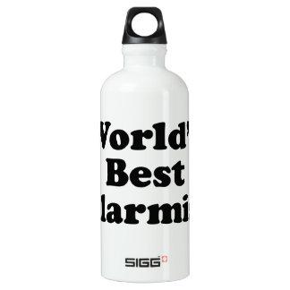 Bouteille D'eau En Aluminium Le meilleur alarmiste du monde