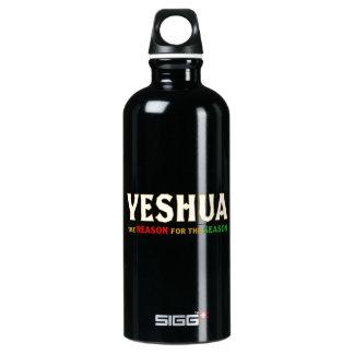 Bouteille D'eau En Aluminium Raison de Noël de Yeshua Jésus de la saison