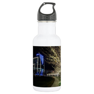 Bouteille D'eau Lumières d'arbre au parc de terriers de Klyde