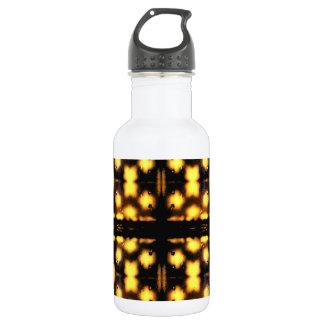 Bouteille d'eau lumineuse de lumières